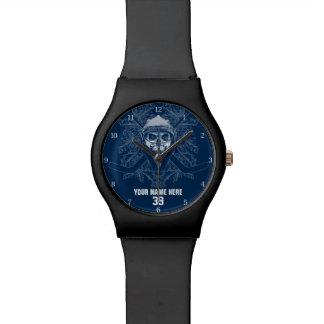 Hellish Hockey Goalie Wrist Watch