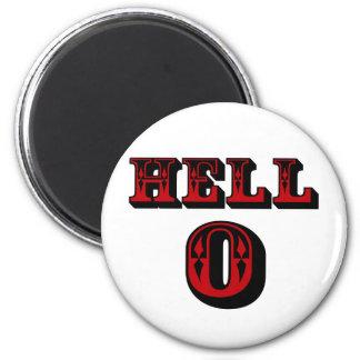 Hello! 6 Cm Round Magnet