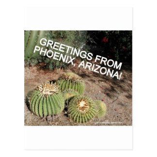 HELLO AND WELCOME TO PHOENIX ARIZONA POSTCARD