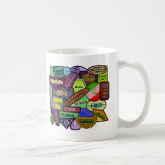 Hello! Around the World Coffee Mug