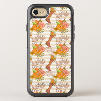 Hello Autumn Pattern OtterBox Symmetry iPhone 8/7 Case
