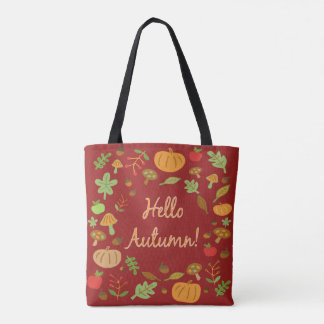 Hello Autumn! Tote Bag