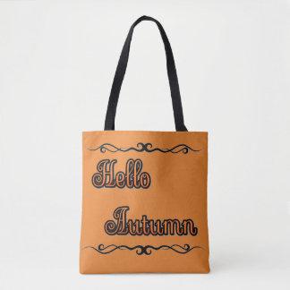 Hello Autumn Tote Bag