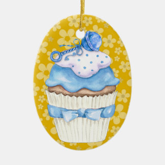 Hello Baby Cupcake ! Christmas Ornament