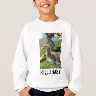 Hello Baby - Goose Kid's T-Shirt