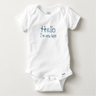 """""""Hello"""" baby shirt"""
