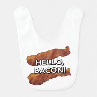Hello, bacon. baby bib