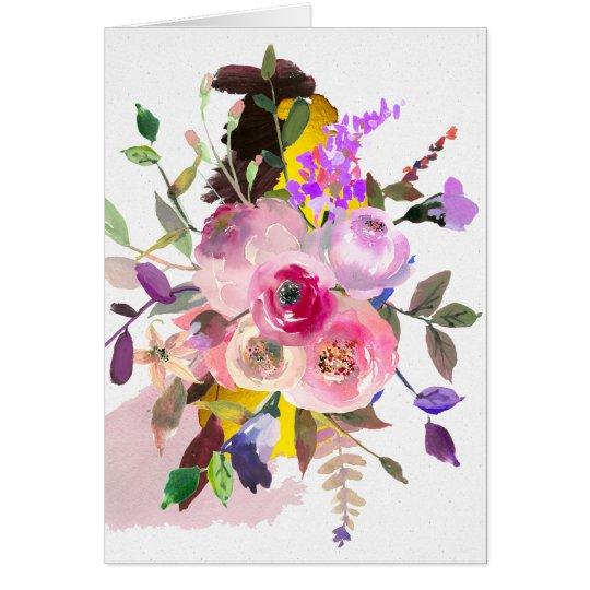 Hello, Beautiful greeting card