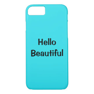 hello Beautiful Phone case