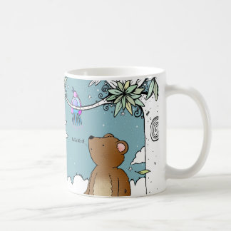 Hello Bird said Mr Bear - mug