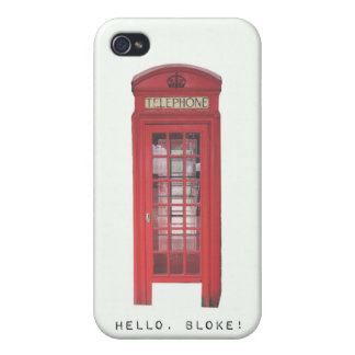 Hello, Bloke! Covers For iPhone 4