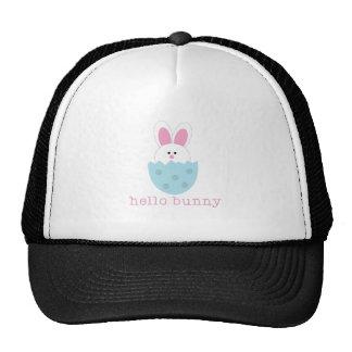Hello Bunny Mesh Hat