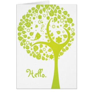 Hello. Card