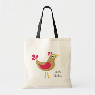 Hello Chicken! Tote Bag