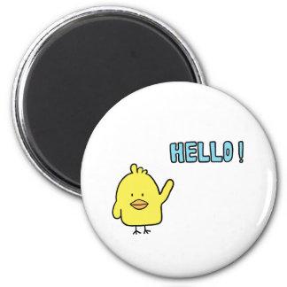 Hello Chickie Fridge Magnets