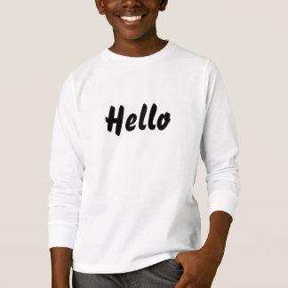 Hello Children's T-Shirt Jumper