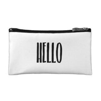 Hello Cosmetic Bag