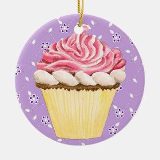 Hello Cupcake ! Christmas Ornament