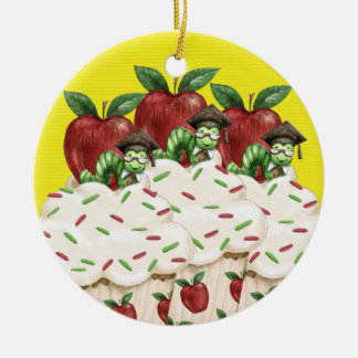 Hello Cupcake - Teacher ! SRF Christmas Ornament