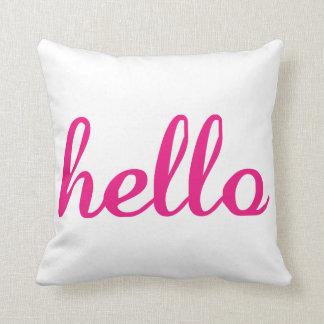 Hello Cute Colorful Hello Gifts Cushion