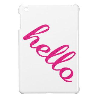 Hello Cute Colorful Hello Gifts iPad Mini Case