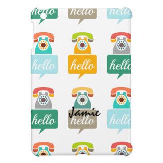 Hello Cute Colorful Hello iPad Mini Case