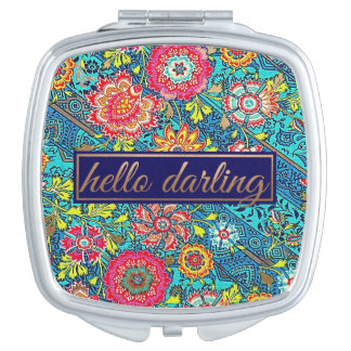 Hello Darling Compact Mirror