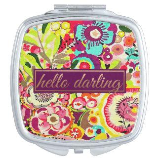 Hello Darling Compact Mirror Compact Mirrors