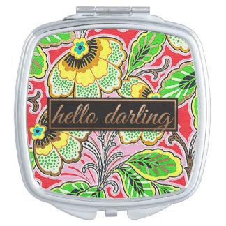 Hello Darling Compact Mirror Compact Mirror
