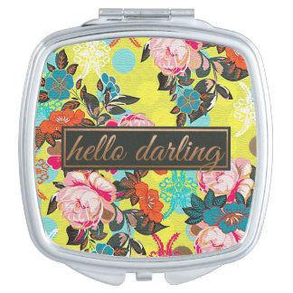 Hello Darling Compact Mirror Vanity Mirror