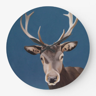 'Hello Deer' wall clock