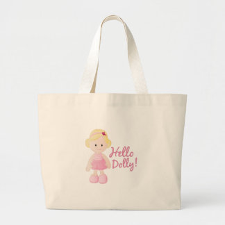 Hello Dolly Large Tote Bag