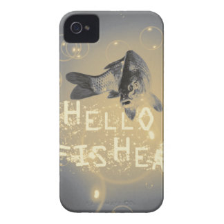 Hello fisher iPhone 4 Case-Mate cases