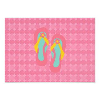 Hello Flip Flops Custom Invite