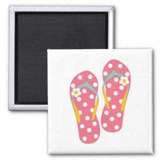 Hello Flip Flops Magnet
