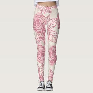 Hello flowers leggings
