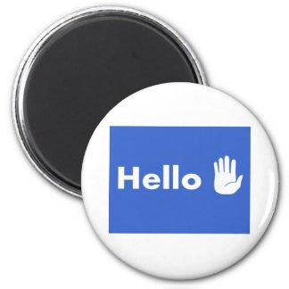 Hello Fridge Magnet