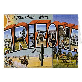 Hello from Arizona Greeting Card