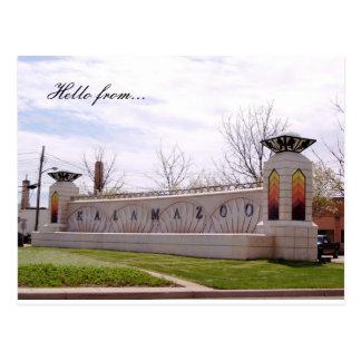 Hello from... Kalamazoo Postcard