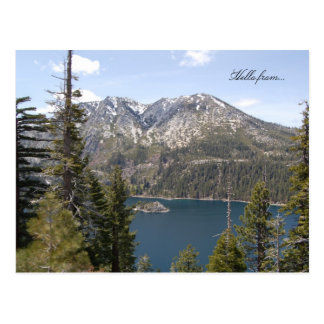 Hello from... Lake Tahoe Postcard