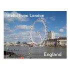 Hello from London Postcard