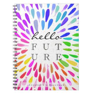 Hello Future | Personalized Bridal Notebook