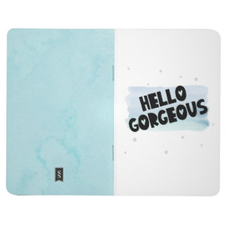 Hello Gorgeous Watercolor Note Journal