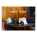 Hello? Hello? Cards