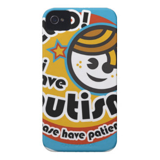HELLO I HAVE AUTISM - AWARENESS iPhone 4 COVER