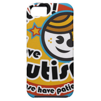 HELLO I HAVE AUTISM - AWARENESS TOUGH iPhone 5 CASE
