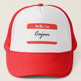 Hello, I'm Cajun Louisiana Trucker Hat