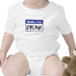 Hello, I'm Drunk Tee Shirt