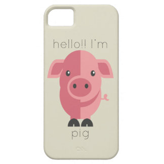 Hello Im Pig iPhone 5 Cover