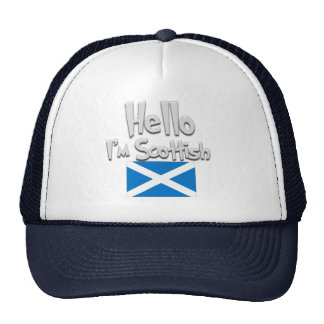 Hello I'm Scottish. Cap